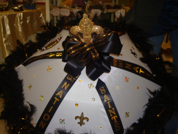 Old Town Praline Glitzy Black and Gold