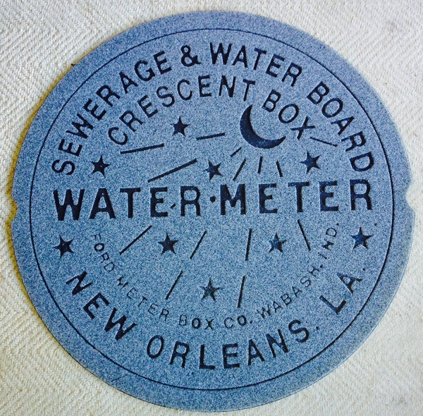 New Orleans Water Meter - Old Town Praline